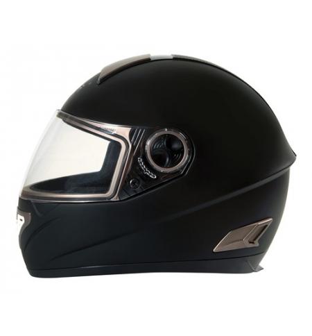 Kio, casco integrale fiberglass - Nero opaco - XS