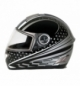 Kio casco integrale Koji fiberglass - Nero - XS