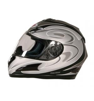 KJ-1, casco integrale fiberglass - Nero opaco - XS