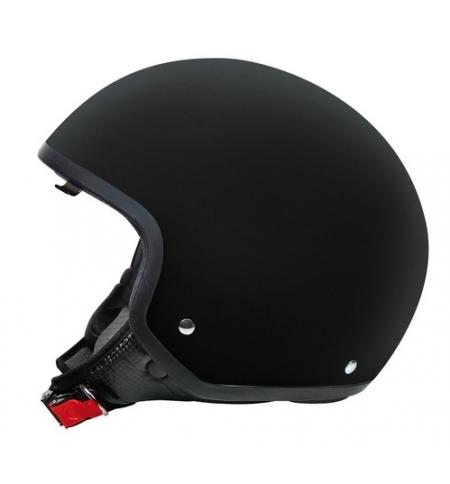 Brio, casco demi-jet - Nero opaco - L