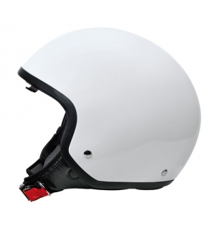 Brio, casco demi-jet - Bianco - M