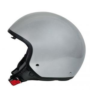 Brio, casco demi-jet - Argento - XS