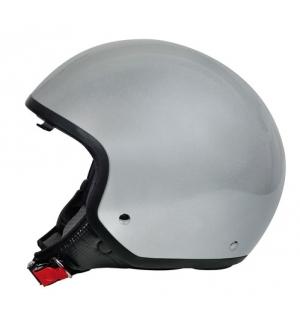 Brio, casco demi-jet - Argento - M