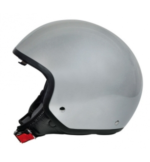 Brio, casco demi-jet - Argento - XL