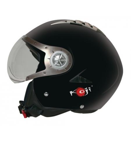 Tomcat, casco jet - Nero opaco - XS