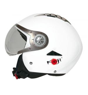 Tomcat casco jet Koji - Bianco opaco - XS