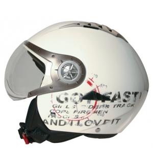 Tomcat casco jet koji - bianco - xl