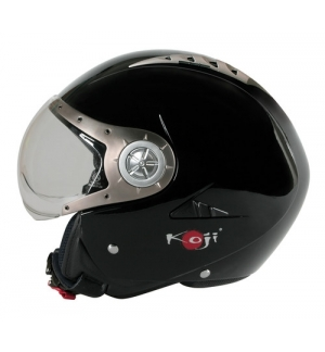 Tomcat casco jet Koji - Nero - S