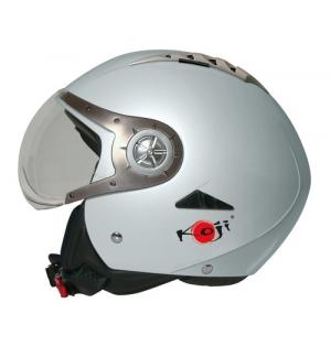 Tomcat casco jet Koji - Argento - XS