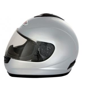 Kj-2, casco integrale - argento - l