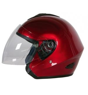 Kj-4, casco jet - rosso - xl