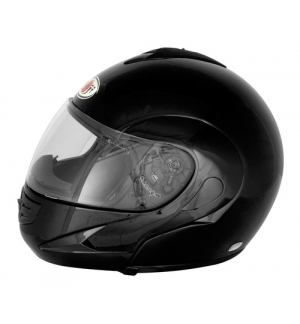 Kj-7, casco modulare - nero - xs