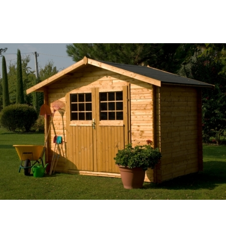 Casetta in legno Pistoia 25mm con pavimento