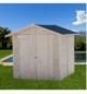 Casetta in legno senza pavimento Hawaii 20mm