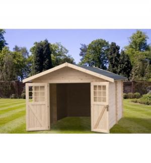 Casetta in legno Lisbona 35mm senza pavimento