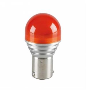 12V LEDriving - (PY21W) - 4W - BAU15s - 1 pz - Blister - Arancio