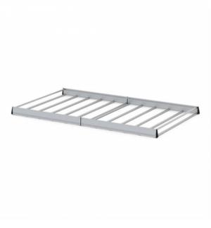 """""""kargo rack"""" 340x145 cm cesta portapacchi per veicoli comm. alluminio"""