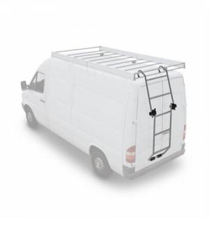 """Scaletta acciaio """"u-10"""" mobile per veicoli commercualu ripieghevole"""