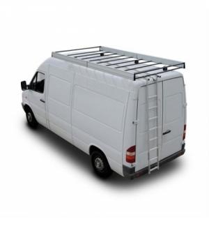 """Scaletta alluminio """"c-1"""" estraibile per veicoli commerciali"""