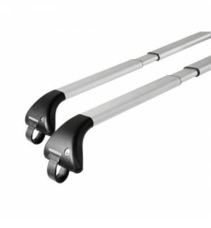 Snap-Fit Alu coppia barre portatutto telescopiche in alluminio - Mis. 2 - 100?136 cm