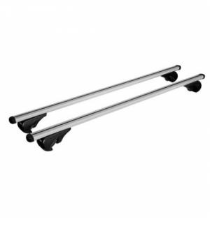 """Cp.barre p/tutto yuro""""l""""127cm alluminio per vetture con railing standard"""