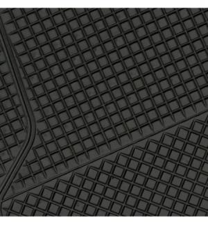 California, serie tappeti universali in pvc 4 pezzi