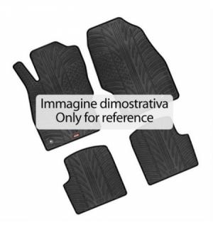 Set tappeti su misura in gomma - Smart Fortwo (11/14 ) - Smart Fortwo Cabrio (03/16 )