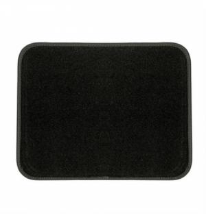 No-Slip, tappetino battitacco in moquette - L - Nero