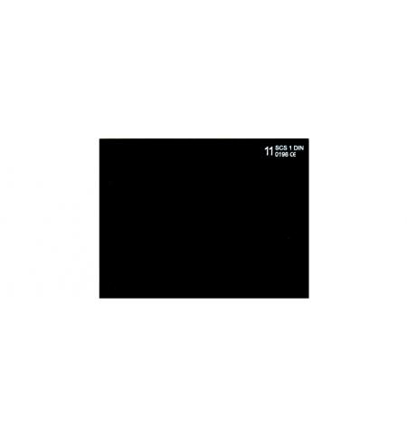 Vetro inattinico 51x107mm