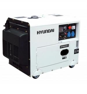 Generatore Silenziato Diesel Hyundai DHY8000SE