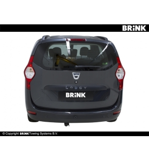 Gancio estraibile BMA Dacia LODGY - 2012