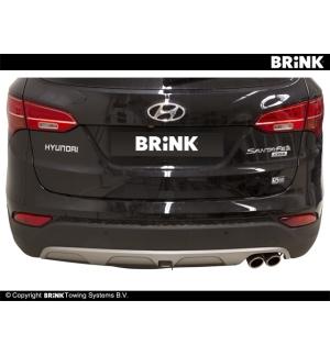 Gancio estraibile BMA Hyundai GRAND SANTA FE - 2014