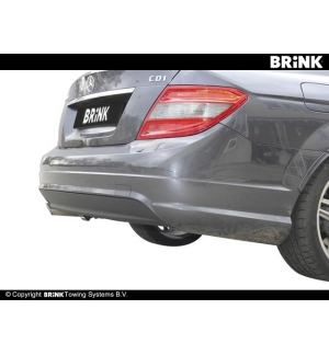 Gancio estraibile BMA Mercedes CLASSE C - SW AMG 2008 2011