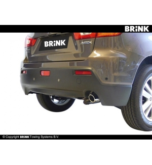 Gancio estraibile BMA Mitsubishi ASX 2/4WD - 2010
