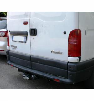 Gancio flangiato 2 fori Nissan INTERSTAR - FURGONE 2002 2010