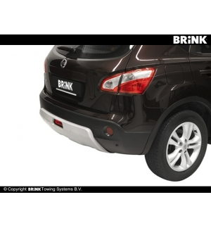 Gancio estraibile BMA Nissan QASHQAI - 2007 2013