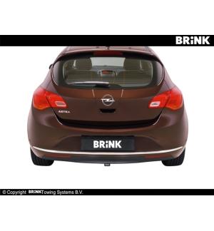 Gancio estraibile BMA Opel ASTRA - BERLINA 2009 2015