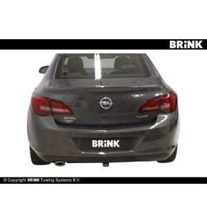Gancio estraibile BMA Opel ASTRA - BERLINA 4 PORTE 2012