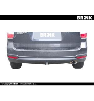 Gancio estraibile BMA Subaru FORESTER - SOSP. TRADIZIONALI 2013