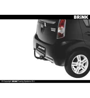 Gancio estraibile BMC Subaru JUSTY - 2WD 2007 2011