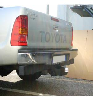 Gancio flangiato 2 fori Toyota HI LUX - CON PARAURTI 2005 2015