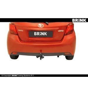 Gancio estraibile BMA Toyota YARIS - BERLINA 2014