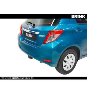 Gancio estraibile BMA Toyota YARIS - BERLINA 2011 2014