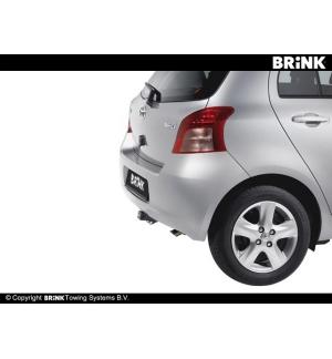 Gancio estraibile BMA Toyota YARIS - BERLINA 2005 2011
