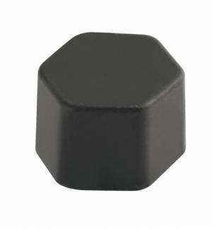 Set 20 copribulloni 17mm in silicone nero