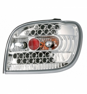 Cp.fari pos performance led toyota yaris, cromo 4 99