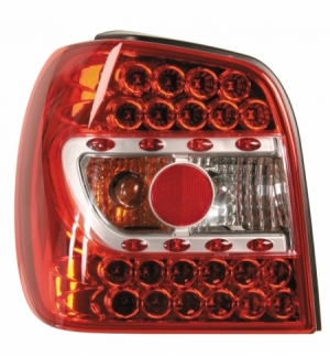 Cp.fari pos performance led vw polo 6n 9698 rosso