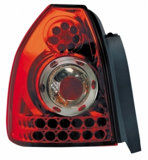 Cp.fari pos performance led honda civic 3d rosso 9501