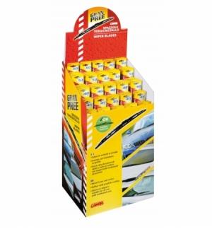 Espositore 70 spazzole gran-pree assortite