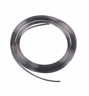 Profilo cromato-nero 4mm x 4m